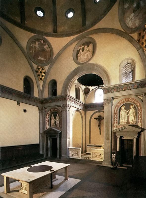 Medici kapellen und kirche von san lorenzo florenz for Sagrestia vecchia